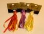 Håndfarvet Silkebånd
