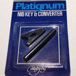 Platignum nib and key