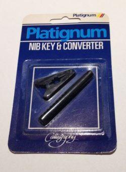 Platignum nib and key