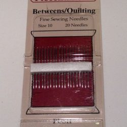Betweens/Quilting size 10