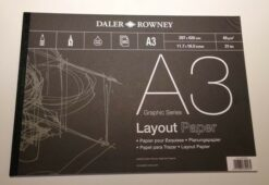 Lay-out blok A3