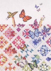 Kort m. sommerfugle