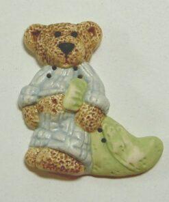 Bamse med tæppe