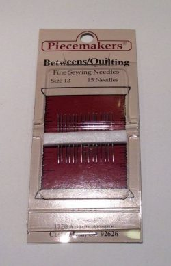 Betweens/Quilting Size 12