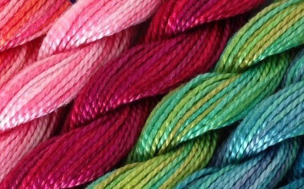 DMC Perlegarn 5 flerfarvet