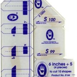 """Set S - The 6"""" five-Patch Block"""