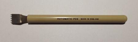 Automatic Lettering Pen Musik