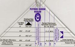 Flying Geese ruler - Flyvende gæs