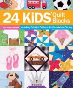 24 Kids`Quilt Blocks