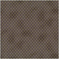 Brun/grå med prikker - 6733