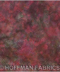 Pink/Tyrkis brosten - Bali/Batik