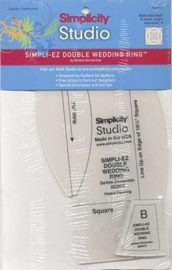 Simpli-EZ double wedding Ring