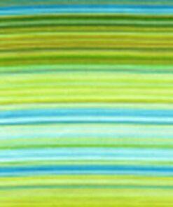 6777 Lime, blå, grøn Strib