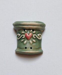 Grøn krukke