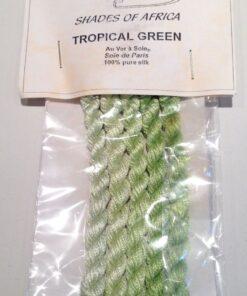 Silketråd - Tropical green