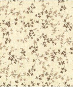 Lysbrun med bladranker