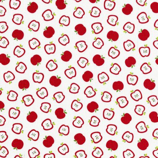 6804 Hvid m. æbler og skrog