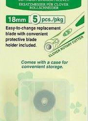 18 mm Refill Blade til Rullekniv - 5 stk.