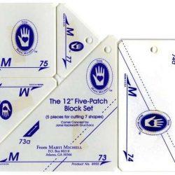 """Five-Patch Block Set 12"""" Sæt M"""