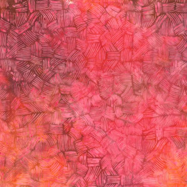 Pink/Orange m. streger Bali/Batik