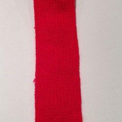 Rød Tubestrik 3 cm