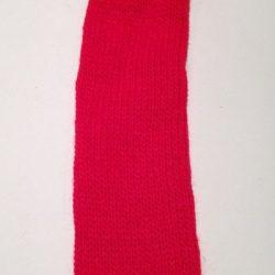 Rød Tubestrik 4 cm