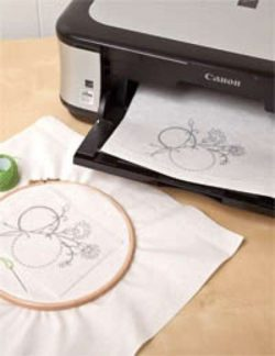 Fusible Wash-Away Stitch Stabilizer