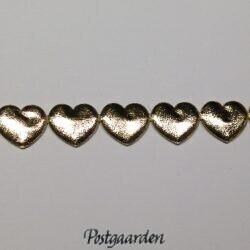 Guld hjerter i bånd