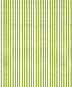Hvid/Grøn Strib