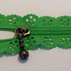 Grøn blondelynlås 20 cm