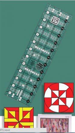 """Quick Trim Ruler 3½"""" x 12½"""""""