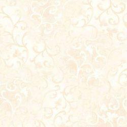 Råhvid Beige med mønster Bred bagbeklædning