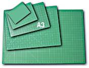Skæreplade 28 x 43 cm - A3