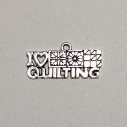 I love quilting charm