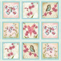 Panel med sommerfugle