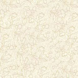 Råhvid m. beige grene