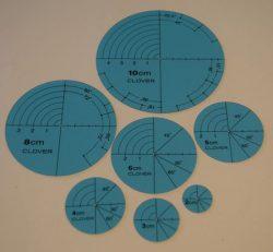 Optegningscirkler - 7 størrelser