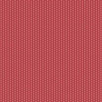 Rød med streger med mønster