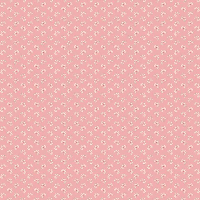 Pink Rosa med hvid blomst