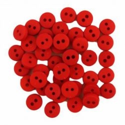 Røde miniknapper