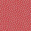 Rød Flannel med hvide prikker