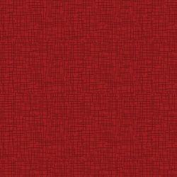 """Rød med """"hør"""" struktur"""