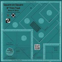 """8"""" Square on Square Trim Tool"""