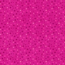 Pink med prikker