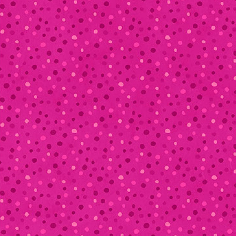7145 Pink med prikker