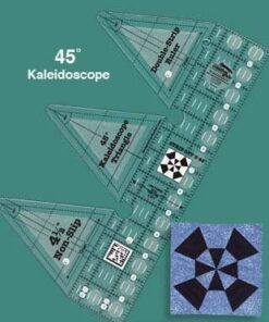 45 grader Double Strip - Kaleidoscope