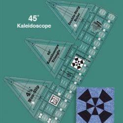 45 grader Double Strip - Kaleidoscope