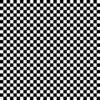 7169 - Sort Hvid patchworkstof med tern fat quarter