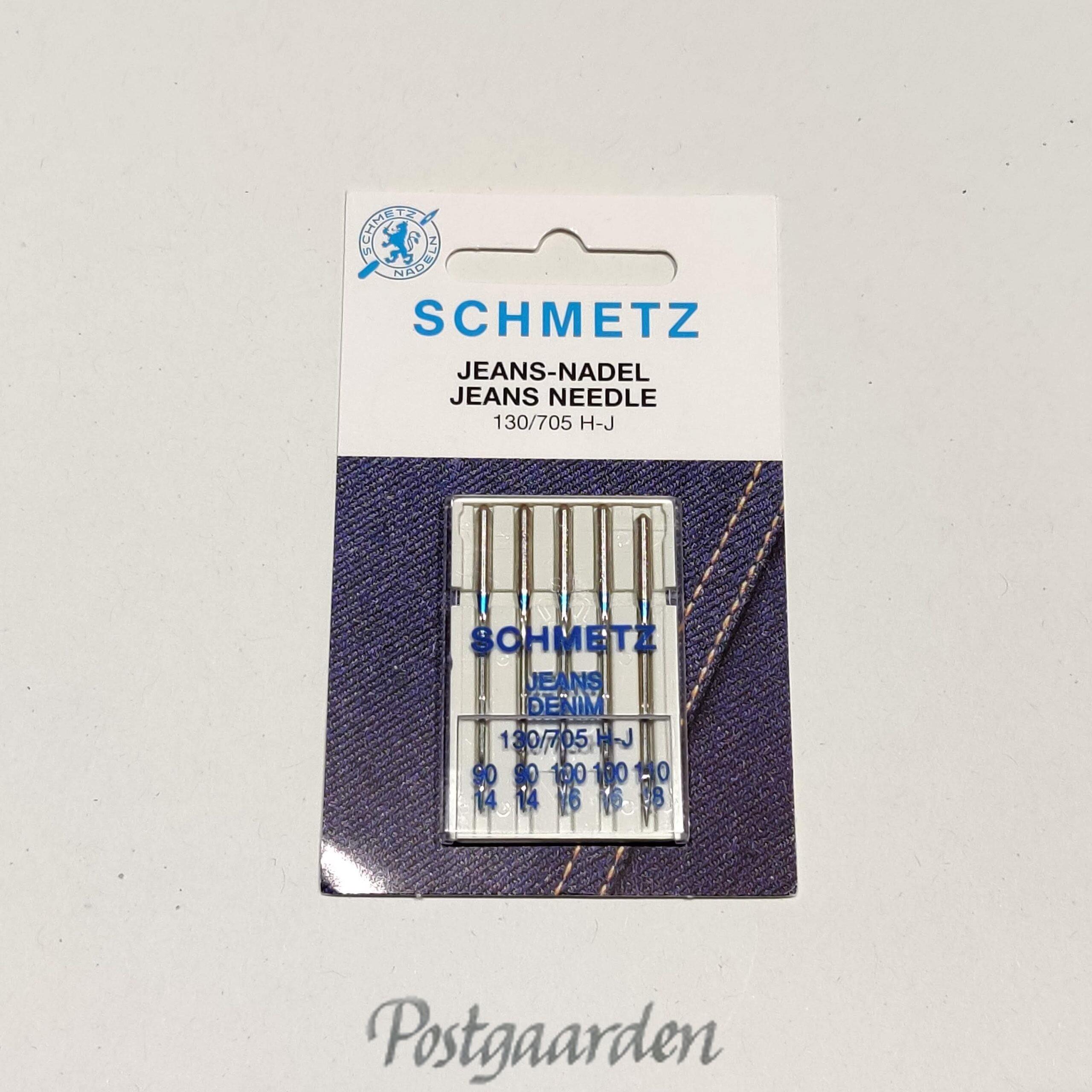 SCHMETZ Jeans needle 130/705 H-J symaskinenåle