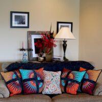 CLPQLT004 Desert Sunset Pillow Set mønster